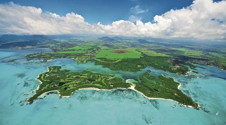 Paradijselijke vakantiebestemming op het eiland Ile aux Cerfs