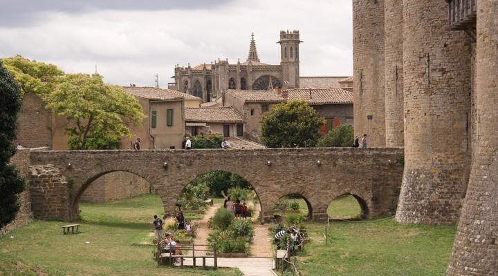 De binnenstad van Carcassonne
