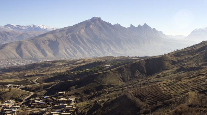 Landschap Koerdistan in Noord-Irak