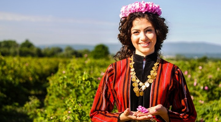 Rozenfestival in Bulgarije