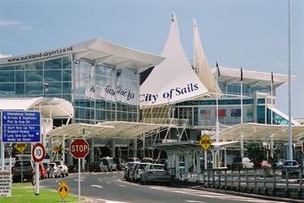 Vliegveld in Nieuw-Zeeland