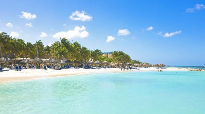 De mooie stranden van Aruba