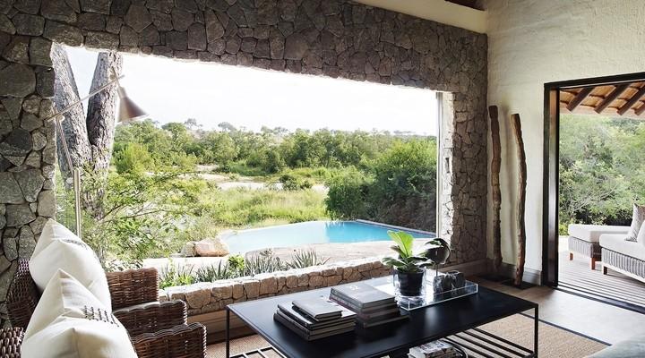 Het uitzicht van een Londolozi Private Suite