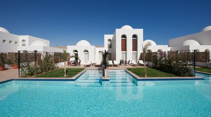 De villa's bij Fort Arabesque