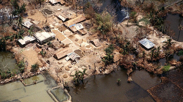 Cycloon Gorky, Bangladesh