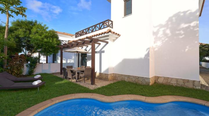 Tuin van Villa met drie slaapkamers