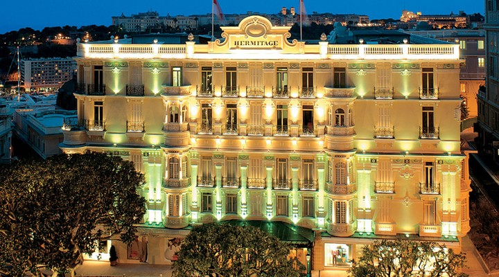 Hermitage Monaco, voorkant hotel