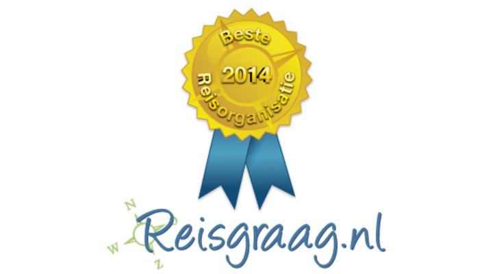 Award logo van 2014