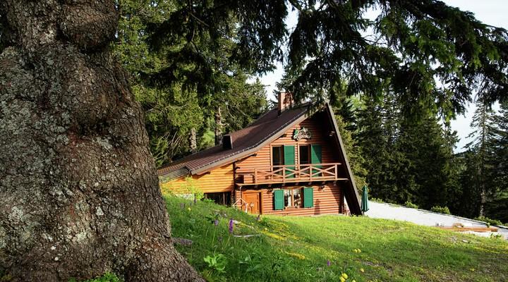 Een van de vakantiehuizen in Slovenië