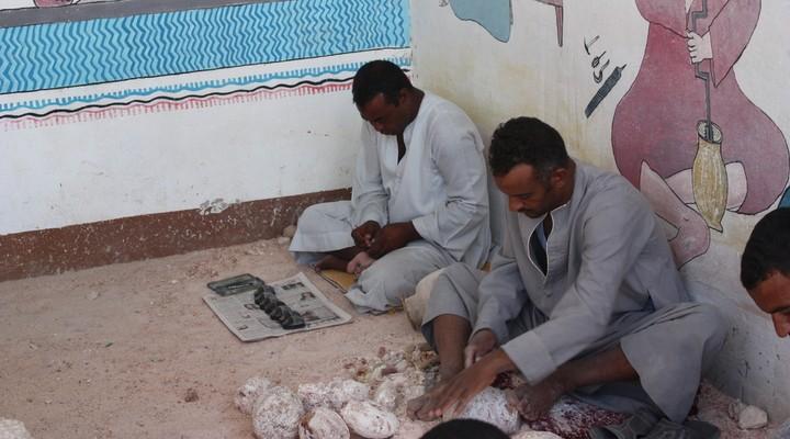 albasterfabriek, Egyptenaren, Egypte