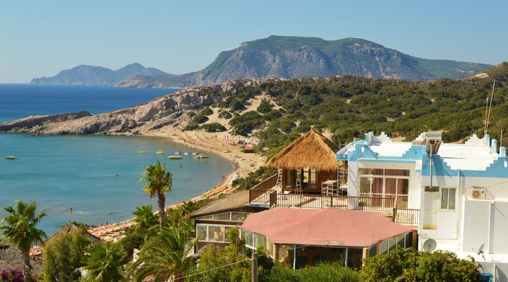 Het Griekse eiland Kos