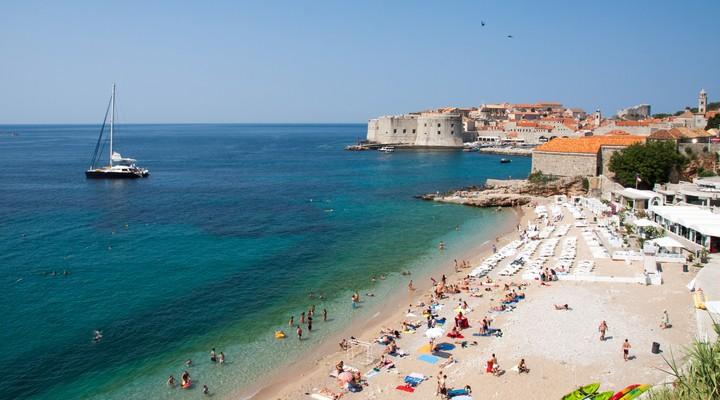 De stadsmuren van Dubrovnik