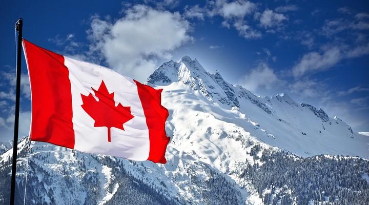 De bergen van Canada