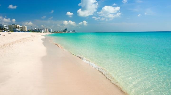 South Beach, prachtig strand Florida