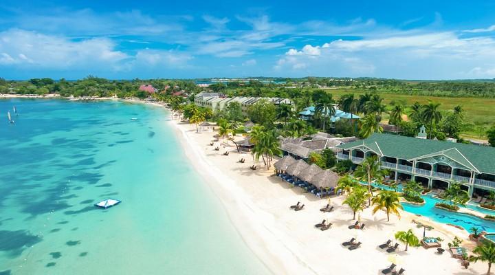 Het strand van Jamaica