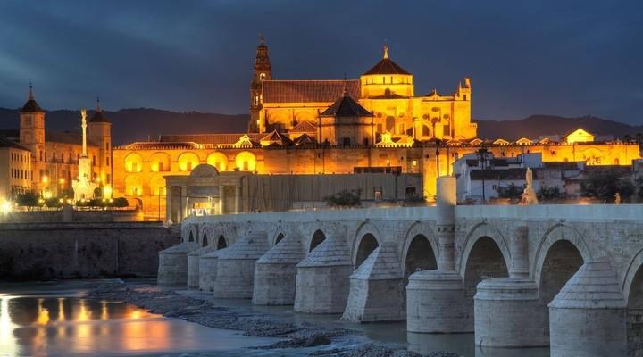 Zonsondergang Córdoba - Spanje