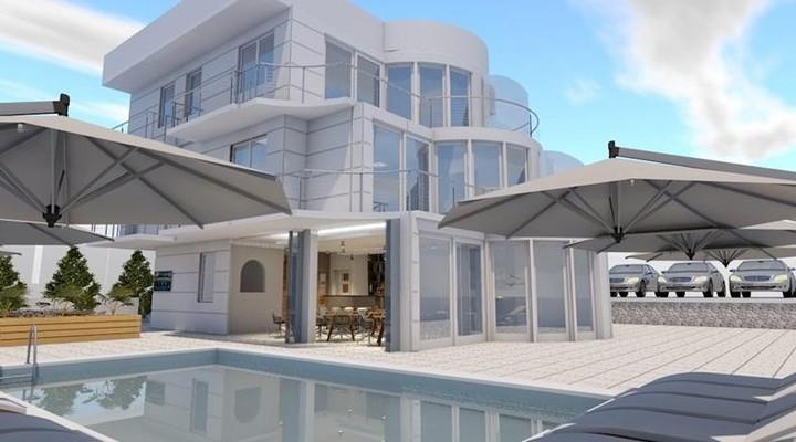 Het nieuwe Hotel Vila Trpe