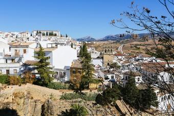 Witte huizen in Ronda