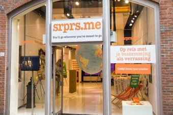Srprs.me opent pop-up store