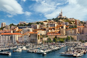 De oude haven van Marseille