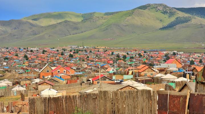 Ulaanbaatar, hoofdstad Mongolië
