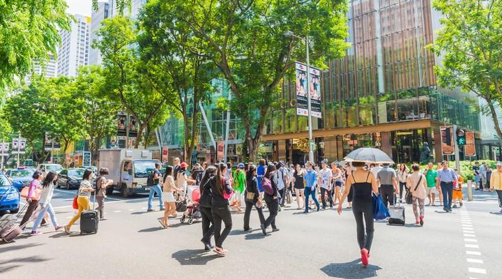 Winkelstraat Orchard Road