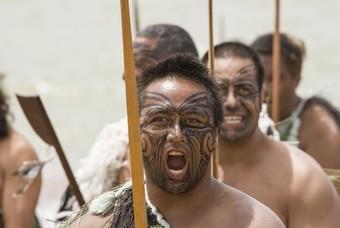 Maori-krijger, oudste volk van Nieuw-Zeeland
