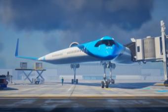 Nieuw vliegtuigontwerp KLM
