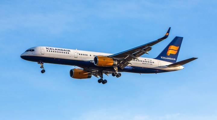 Vliegtuig van Icelandair