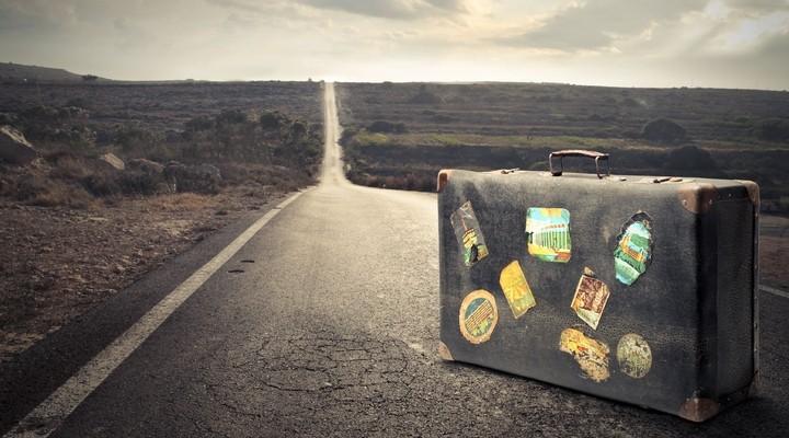 Verlaten koffer