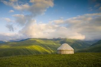 Landschap Kazachstan