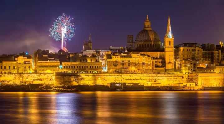Valletta is het decor voor het festival