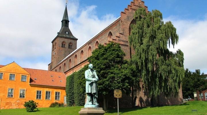 Standbeeld Hans Christiaan Andersen Odense
