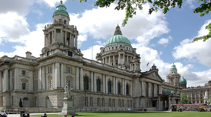Cityhall Belfast, Ierland