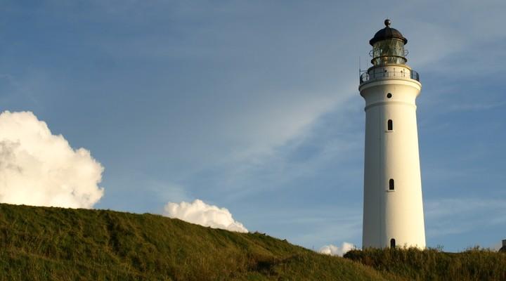 Vuurtoren Jutland Denemarken