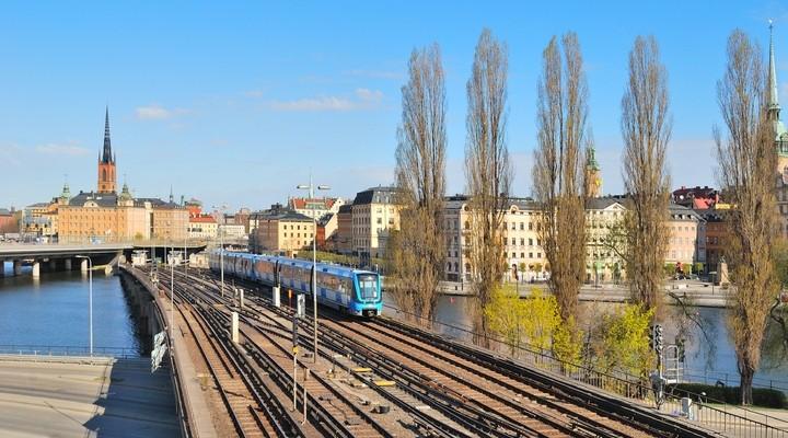 Trein voor Stockholm