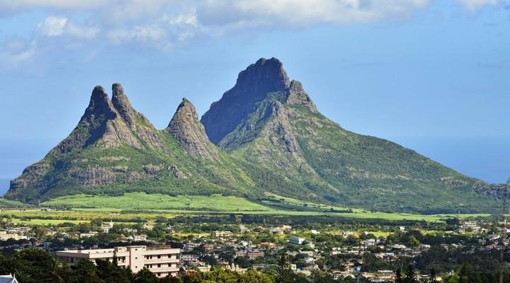 Berglandschap Mauritius