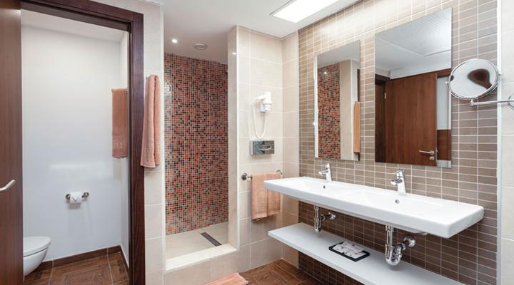 Badkamer van Suite