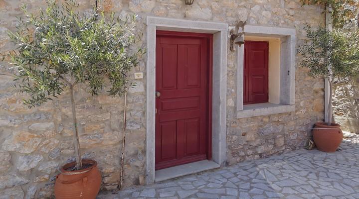Een huis op het Griekse eiland Chios