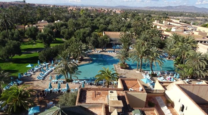 Zwembad van Club Med la Palmeraie