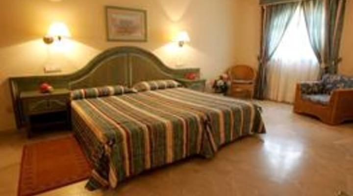 de slaapkamer van 5-persoonskamer, Familiesuite