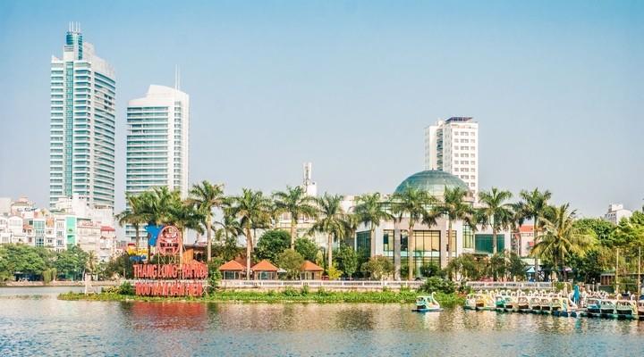 Hanoi, de hoofdstad van Vietnam