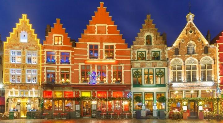Brugge tijdens kerst