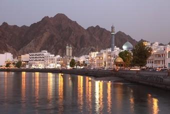 De prachtige hoofdstad Muscat
