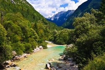 Soča rivier