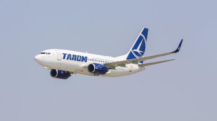 Vliegtuigmaatschappij Tarom Roemenie