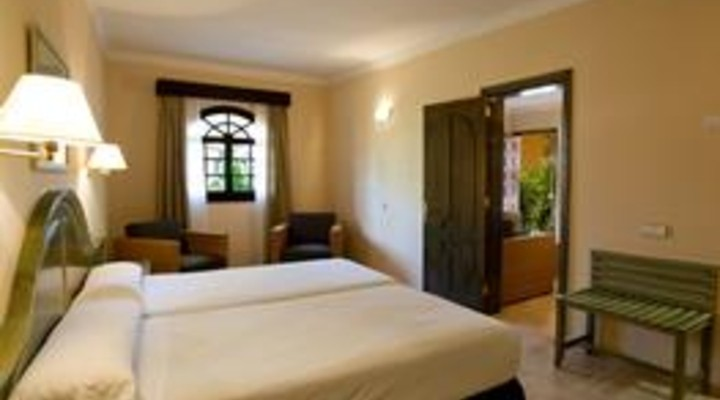 de slaapkamer van 4-persoonskamer, Suite