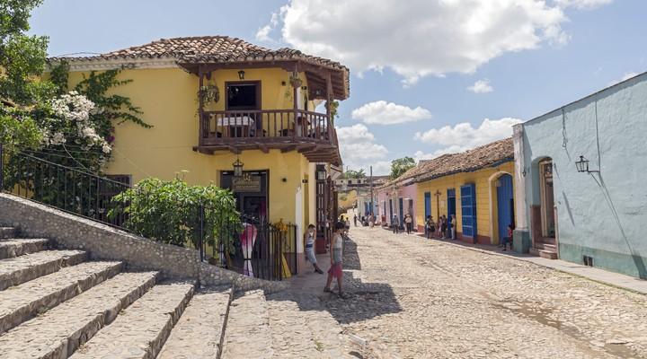 Oude, historische stadskern van Trinidad