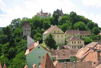 De kleurrijke huizen van Sighișoara
