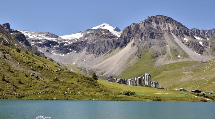 Tignes Val Claret, dorp in Rhône-Alpes